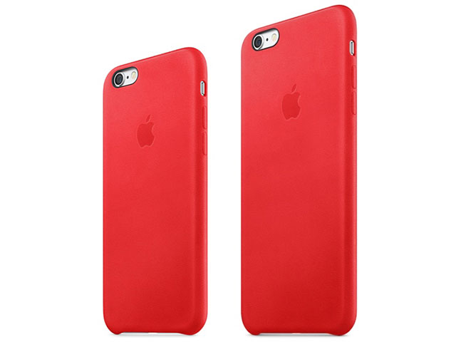 iPhone 6s/6s Plusレザーケース (PRODUCT)RED
