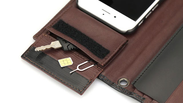 TUNEWEAR Completewallet リアルレザーケース for iPhone 6s/6