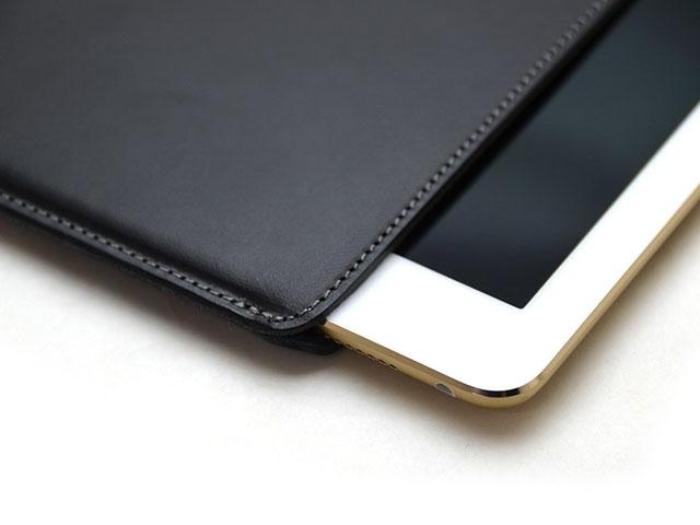 バズハウスデザイン ハンドメイドレザーケース for iPad Pro
