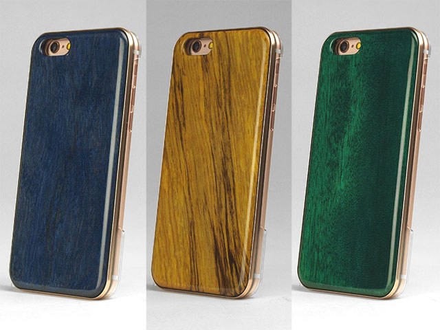 Razornautz REAL WOODEN CASE COVER 「WoodGrain-木目-」for iPhone 6s/6
