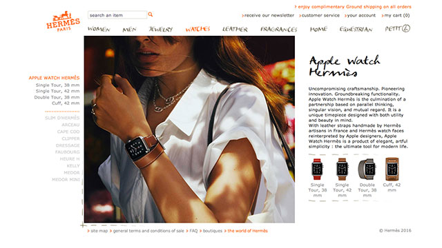 Hermes Official Website
