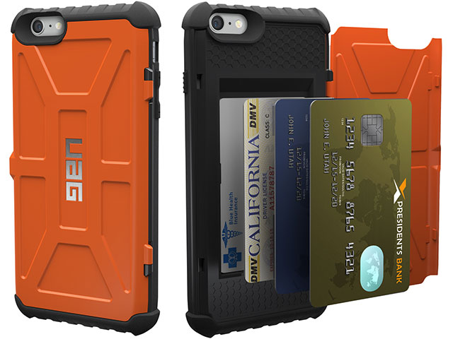 UAG スマートフォン用カード収納ケース iPhone 6/6s/6 Pus/6s Plus