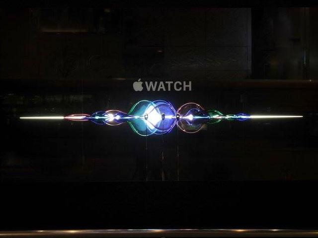 Apple Watch Window featuring Siri
