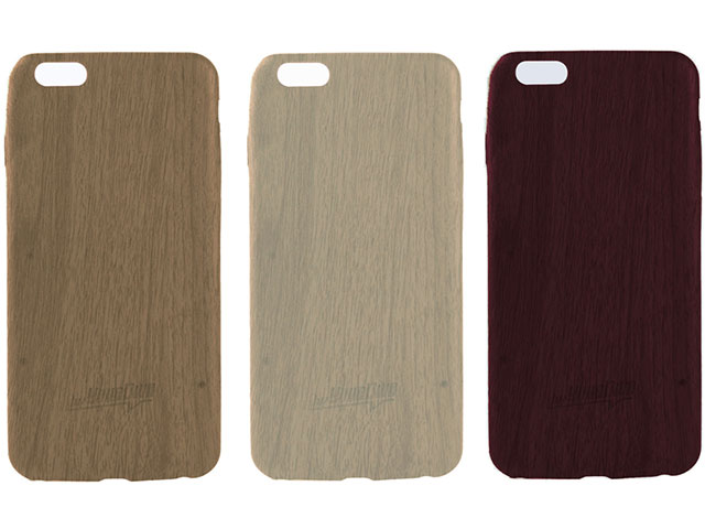 hvYourOwn Skinny Soft Case TIMBER