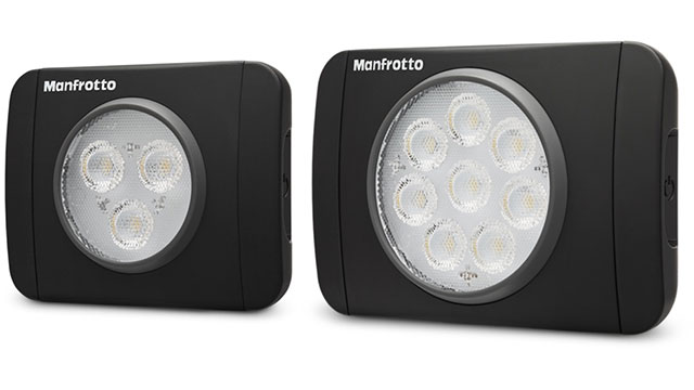 Manfrotto Lumimuse 3/8 LEDライト