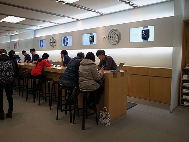 Apple Store札幌のGenius Bar