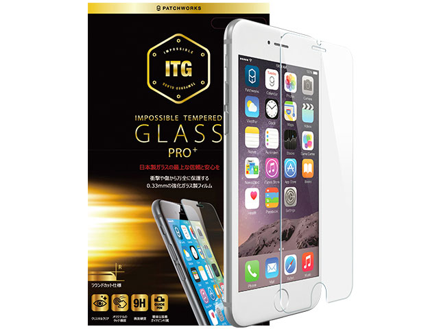 ITG PRO Plus - Impossible Tempered Glass - PATCHWORKS