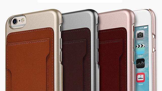 iPhone 6s/6 ケース araree Slim Pocket