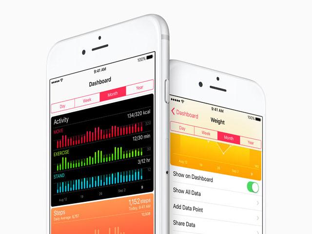 iOS 9.3のヘルスケア