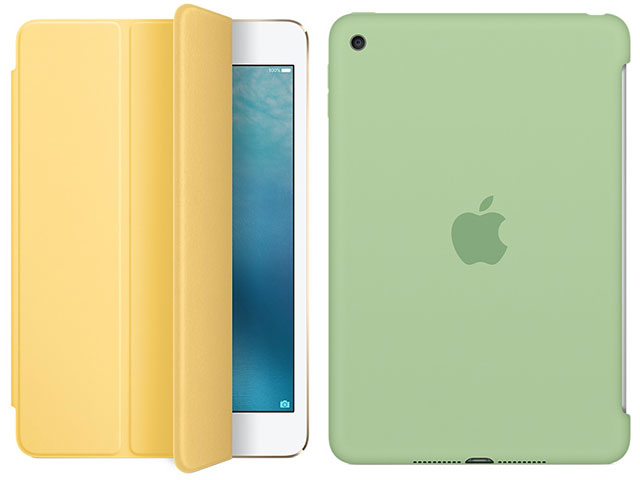 iPad mini 4 Smart Cover/シリコーンケース