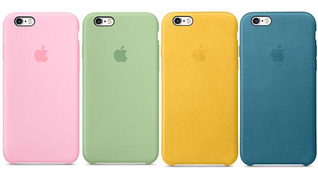 iPhone 6s/6s Plusシリコーンケース・レザーケース