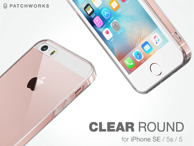 PATCHWORKS Clear Round Case