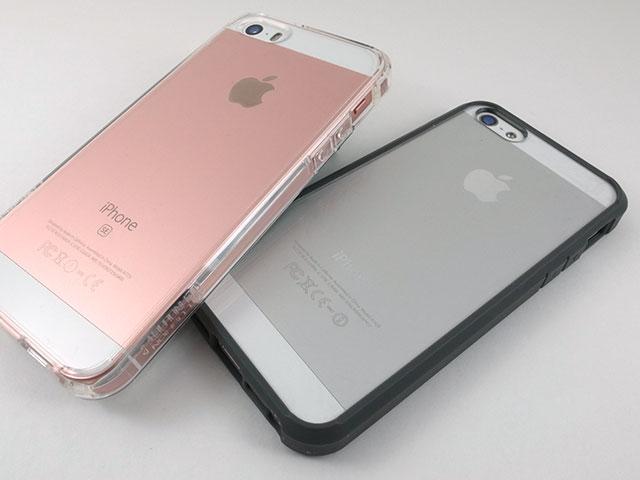 iPhone SEケース Spigen ウルトラ・ハイブリッド