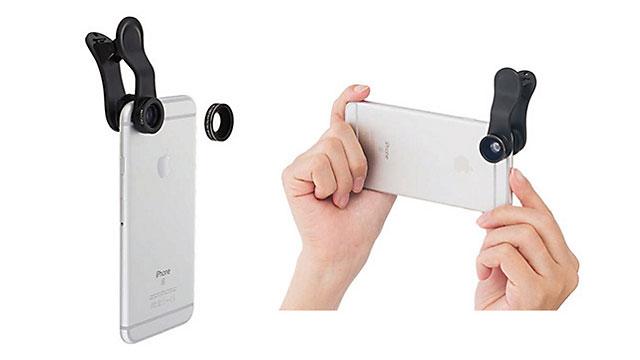 SoftBank SELECTION クリップレンズ ワイド&マクロ for iPhone