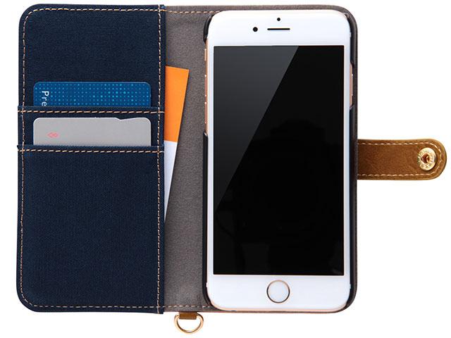 iPhone 6/6用手帳型ケース ファブリック 帆布(RT-P9FBC2シリーズ)