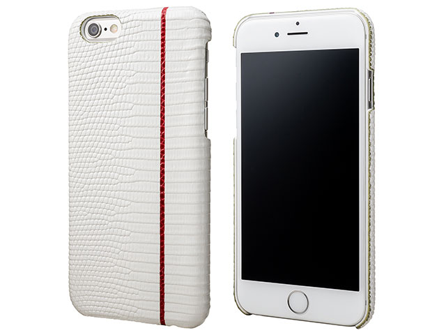 GRAMAS Meister Back Cover Leather Case White Rizard MI8116 for iPhone 6s / iPhone 6
