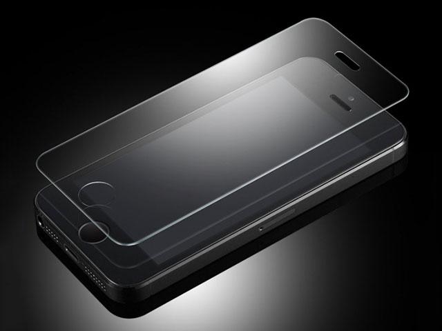 Spigen ガラス フィルム GLAS.tR SLIM for iPhone SE