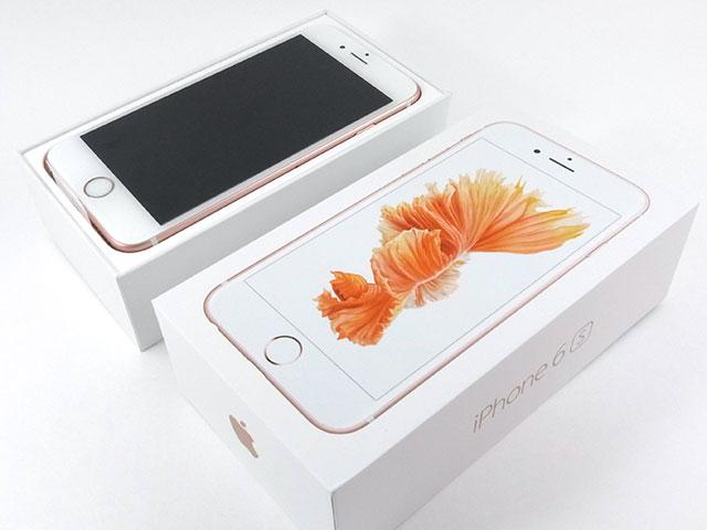 iPhone 6sのバッケージ