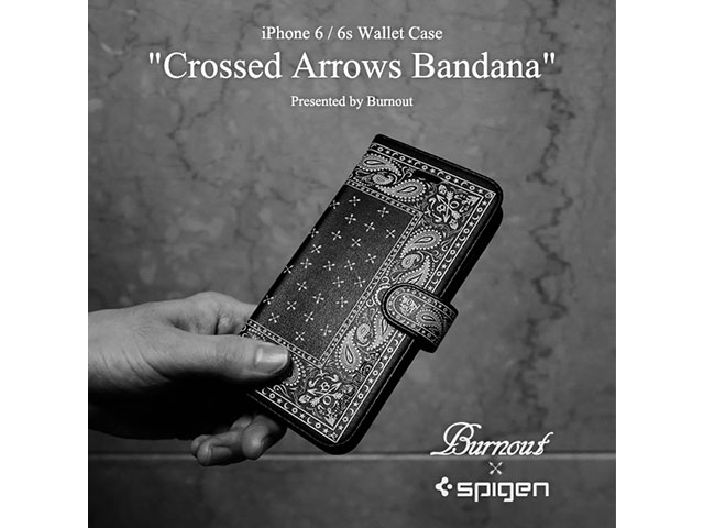 Crossed Arrows Bandana iPhone 6/6s Wallet Case