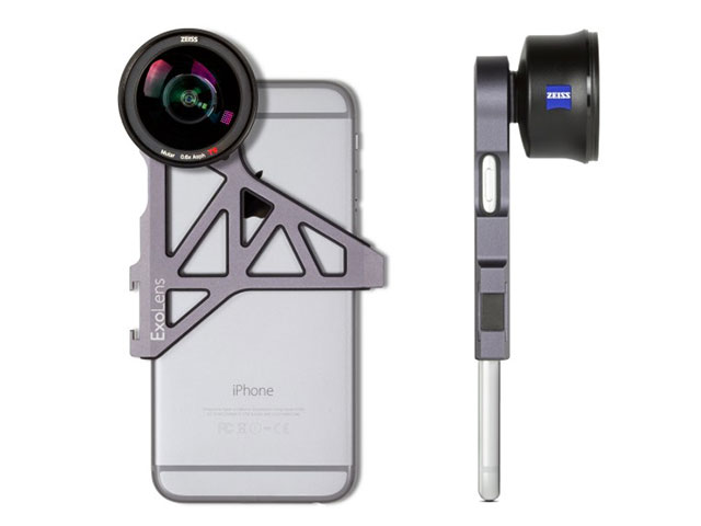 ExoLens with Optics by ZEISS Wide-Angle Lens Kit for iPhone 6/6s