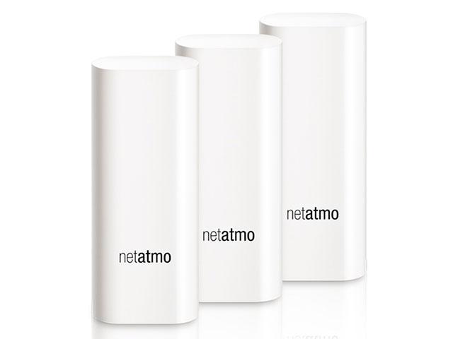 Netatmo タグ for Welcome 防水型ドア・窓用防犯センサー(3個セット)