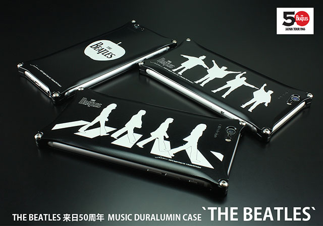 MUSIC SMARTPHONE DURALUMIN CASE 'THE BEATLES'