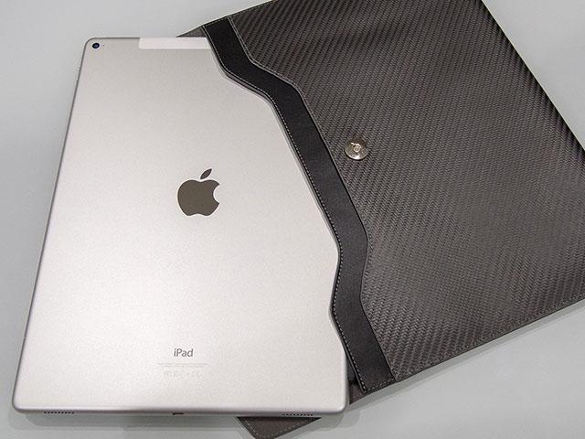 Carbon Fiber Sleeve for iPad Pro Sleek Elite