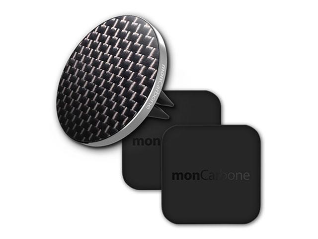 monCarbone Carbon Fiber Magnetic Car Mount JustClick