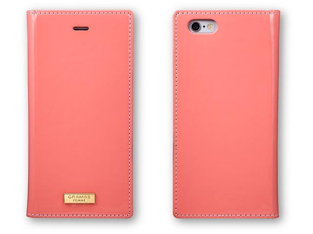 "GRAMAS FEMME ""Ena"" Flap Enamel Leather Case FLC236 for iPhone 6s / iPhone 6"