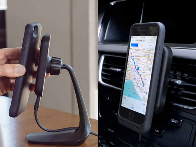 mophie charge force desk mount/mophie charge force vent mount