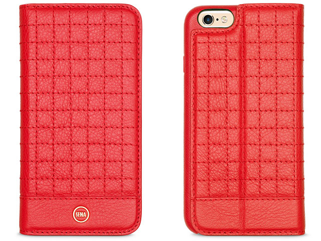Sena Quilted Wallet Book Case for iPhone 6/6s
