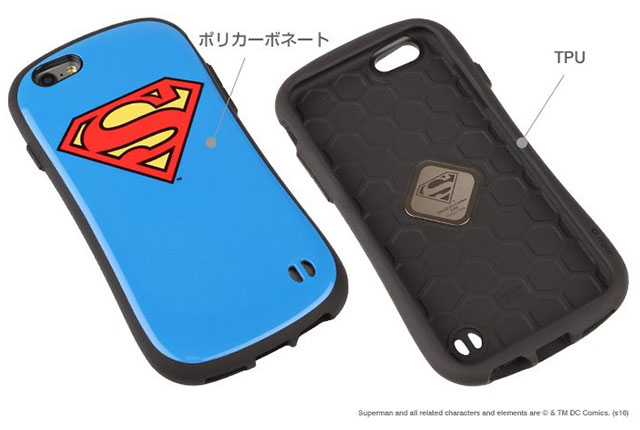 DCコミックス BATMAN SUPERMAN iFace First Classケース