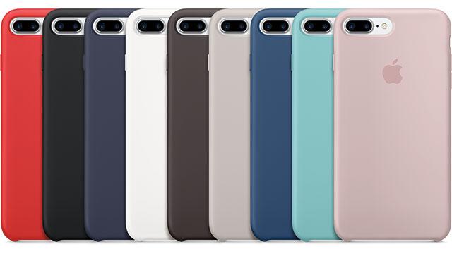 Apple iPhone 7 Plusシリコーンケース