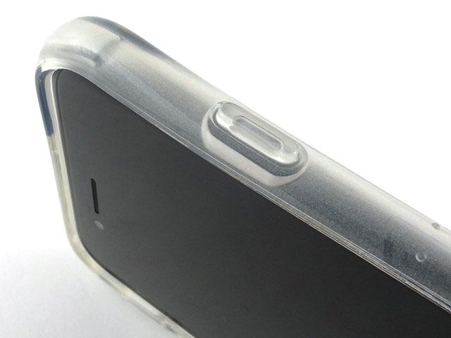 TUNEWEAR Hybrid Shell 衝撃吸収クリアケース for iPhone 7