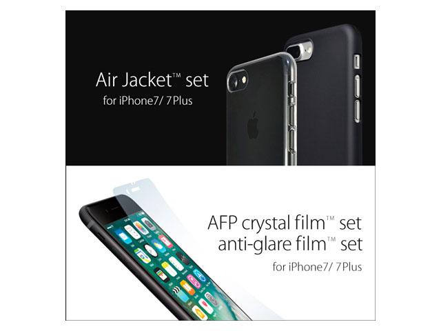 パワーサポートのiPhone 7/7 Plus用ケース・保護フィルム