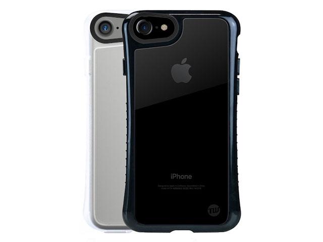 TUNEWEAR Hybrid Shell 衝撃吸収クリアケース for iPhone 7 ブラック