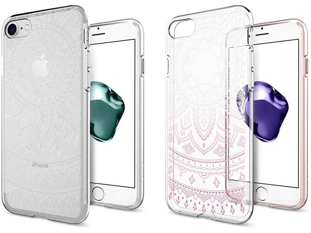 Spigen iPhone 7 リキッド・クリスタル シャイン