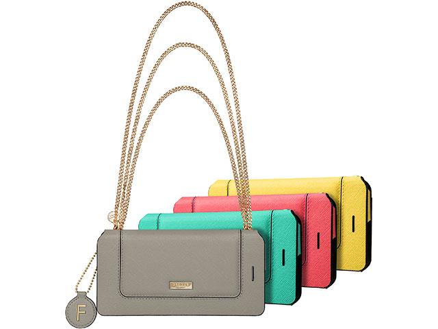 "GRAMAS FEMME ""Sac"" Bag Type Leather Case FLC286 for iPhone 7"