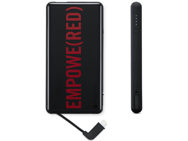 mophie powerstation plusユニバーサルバッテリー (PRODUCT)RED
