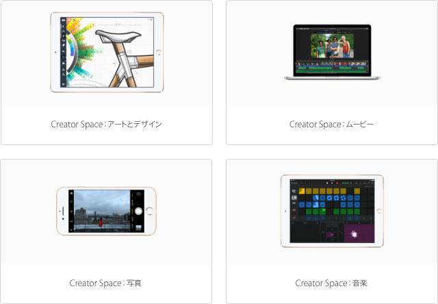 Apple Store Creator Space