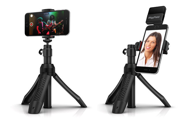 IK Multimedia iKlip Grip Pro多機能カメラスタンド