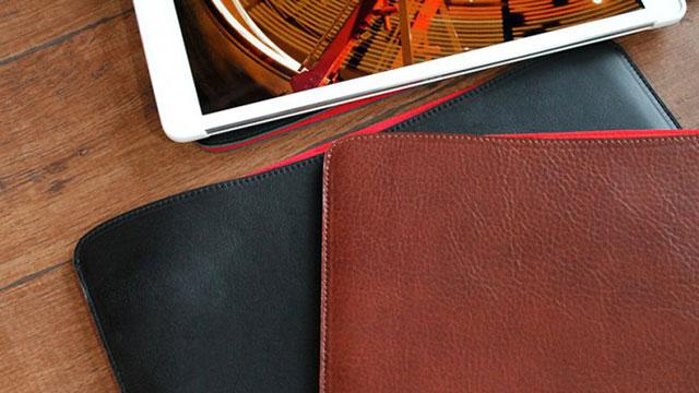 国立商店 職人が作るレザースリーブ for 9.7インチiPad Pro