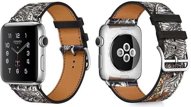 Apple Watch Hermès用レザーストラップ《赤道直下・タトゥー》