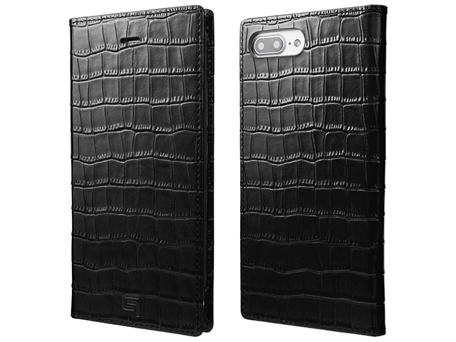 GRAMAS Croco Patterned Full Leather Case for iPhone 7 Plus