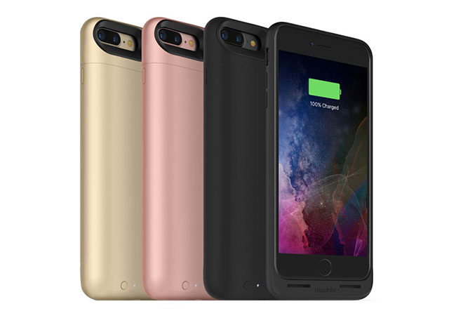mophie Juice Pack Air for iPhone 7 Plus ワイヤレス充電付きバッテリーケース