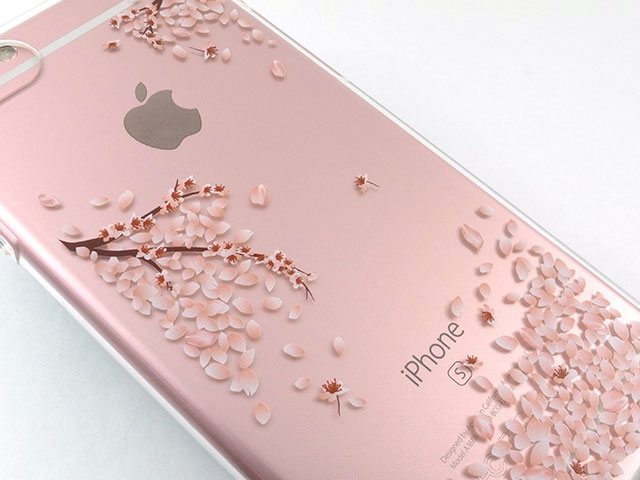 Spigenリキッド・クリスタル シャイン・ブロッサム iPhone 7ケース