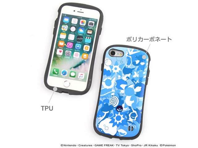 iPhone 7専用ポケットモンスター/ポケモン iFace First Classケース