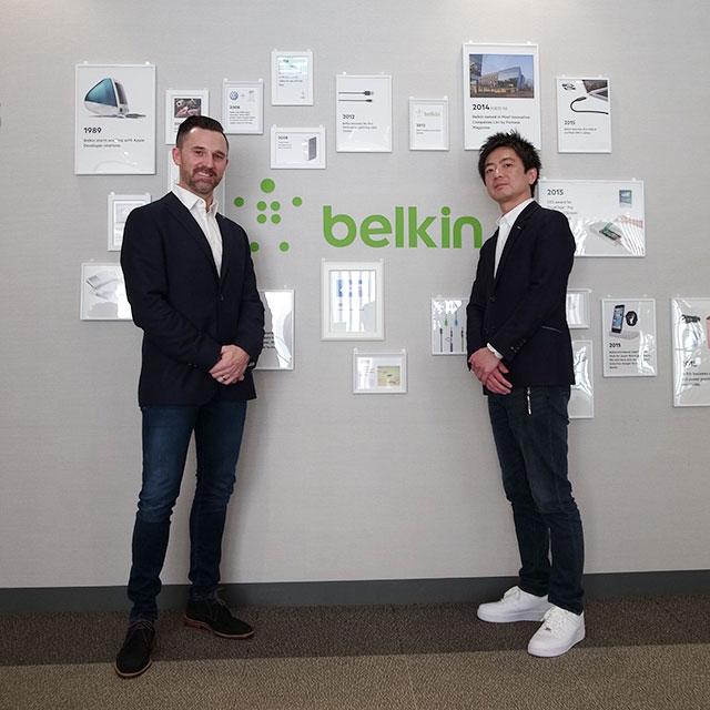 ベルキン発表イベント