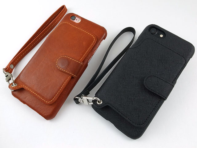 レビュー rakuni light pu leather case book type with strap for