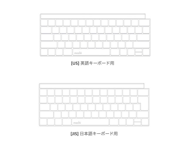moshi Clearguard MB with Touch Bar [JIS/US]